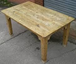 Antique Pine Kitchen Table  Sellingantiquescouk - Old kitchen tables