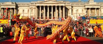 Celebration In Uk 8th New Year Outside Asia The World S