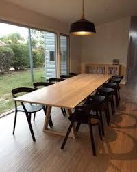 Large Dining Room Table Seats 12 Large Solid Walnut Expandable Jupe Dining Table Seats