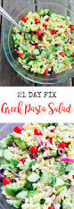 21 day fix greek pasta salad confessions of a fit foodie