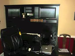 L Shaped Computer Desks With Hutch desk of wall and wooden floor plus window sauder computer desks