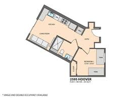 element usc student housing community for rent near usc