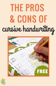 free cursive handwriting worksheets jinxy kids