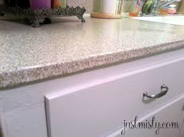 granite countertop porcelain sink kitchen copper faucet with
