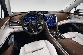 subaru viziv interior new york auto show subaru ascents toward large suv status trucks com