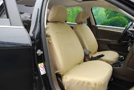 tan lexus amazon com 115903 tan leather like 2 front car seat covers
