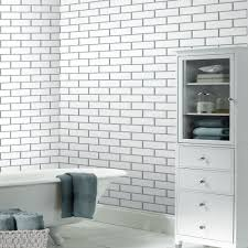 modern kitchen wallpaper ideas small kitchen wallpaper tile effect subway tile white wallsorts