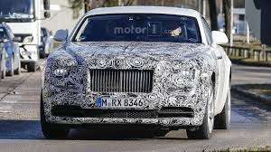 rolls royce wraith engine rolls royce wraith facelift prototypes caught out in the open