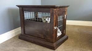 how to build a dog kennel end table diy projects for everyone