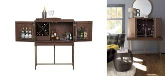 crate and barrel bar cabinet bourne bar cabinet crate and barrel alcohol storage and tray sleek
