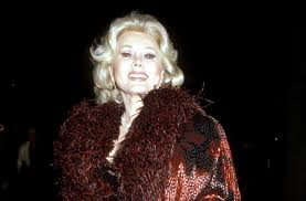 Za Za Gabor Zsa Zsa Gabor Had 9 Husbands And Reportedly Was U0027the Best Lover