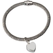cremation jewelry bracelet pet cremation jewelry sterling silver rhodium plated bracelet