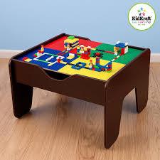 amazon com kidkraft 2 in 1 activity table espresso toys u0026 games