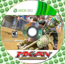 motocross vs atv mx vs atv supercross cover xbox 360 by masterjim360 on deviantart