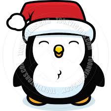 cartoon christmas penguin by cory thoman toon vectors eps 2972