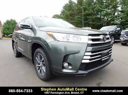 toyota highlander new toyota highlander in bristol ct inventory photos videos