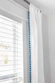 Curtain Patterns To Sew Diy No Sew Pom Pom Curtains Orc Week 5 Bless U0027er House