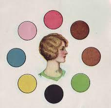 simple 1930 color harmony tool glamourdaze