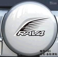 toyota rav4 spare tire 2017 toyota rav4 spare tire stickers car sticker reflective car