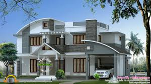 contemporary mix house in 2500 sq ft kerala home design and