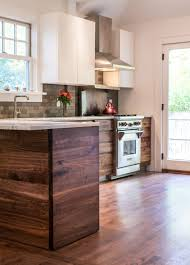 Rustic Birch Kitchen Cabinets by Back To Kitchens Two Tone Rustic Walnut Kitchen This Two Tone