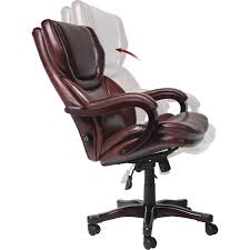 brown leather executive desk chair chair brown leather executive desk chair with footrest and height