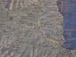 Ferrara Italy Map by The Course Of The Po River Changed After An Earthquake In Ferrara