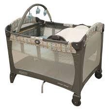 Shermag Capri Convertible Crib White by Parc Pack U0027n Play Avec Couchette Et Table A Langer