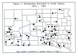 Fault Line Map South Dakota Earthquakes