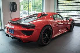the porsche exchange rare 2015 porsche 918 spyder for sale at