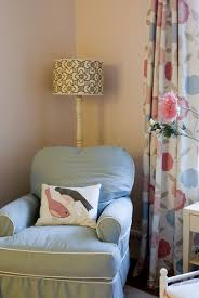 White And Pink Nursery Curtains Pink Nursery Curtains With Gray Sofa Transitional Nursery