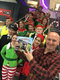 elves surprise passengers at cardiff airport u2013 llanelli online