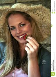 country style strawberry blond stock photos image 859613