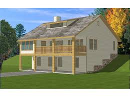house plans sloped lot country home plan 088d 0188 house plans and more