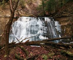 Ohio Waterfalls Map by Hell Hollow Waterfalls