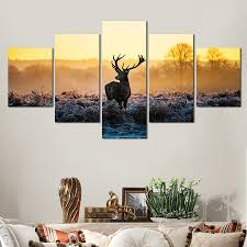 online get cheap deer print artwork aliexpress com alibaba group