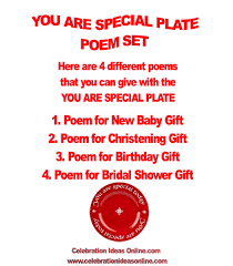 you are special today plate unique baby shower gift idea that lasts a lifetime