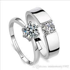 crystal rings wholesale images 2018 crystal adjustable cubic zirconia rings wholesale set size jpg