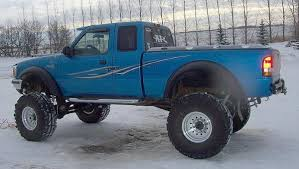 ford ranger with a lift kit ford ranger solid axle comparisons