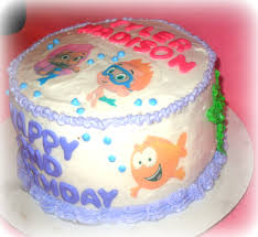 bubble guppies cakes are perfect design for baby shower party