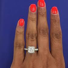 princess cut halo engagement ring tacori halo princess cut engagement ring in