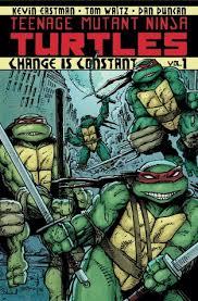 teenage mutant ninja turtles volume 1 change constant