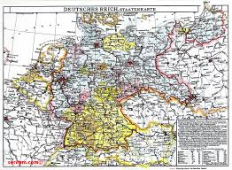map of gemany historical maps of germany