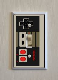 nintendo controller light switch wall plate by majorcollectables