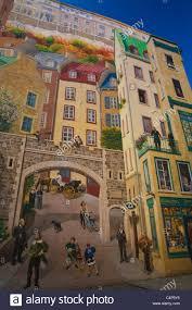 la fresque des quebecois mural old quebec quebec city quebec la fresque des quebecois mural old quebec quebec city quebec canada