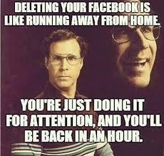 Memes About Facebook - facebook meme deleting facebook memes comics pinterest