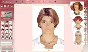 hair color simulator free hairstyle virtual makeover fun crafts for the girls
