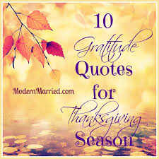 10 gratitude quotes for thanksgiving season