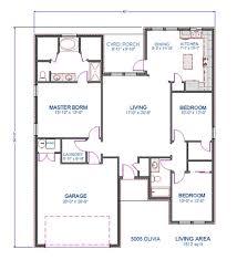 floorplan 1612 sq ft 3bd 2 bth 2 garage wichita falls