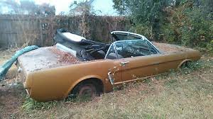 mustang project cars for sale 1965 mustang project car cars for sale